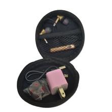 Neutral Headphone Packet USB Data Line Storage Box Portable Headset Bags EVA  Dollar Coin Purse Wallets for earphone
