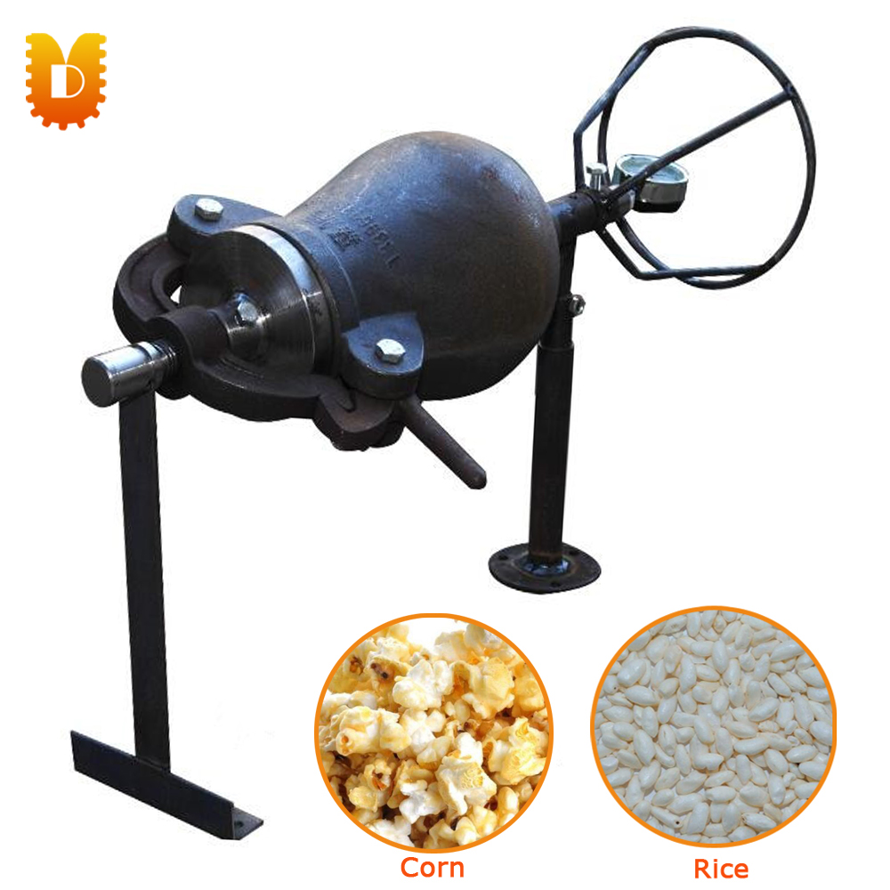 1kg/time Manual Corn Rice Popper/Popcorn Machine/Popcorn Maker pop 06 economic popcorn maker commercial popcorn machine with cart