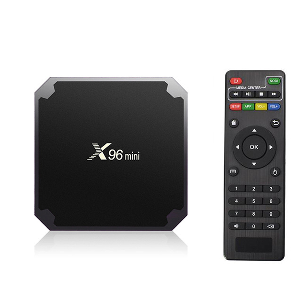 цена на X96 mini TV Box 7.1 2GB 16GB android TV BOX Amlogic S905W Quad Core Support H.265 UHD 4K WiFi X96mini Android Set-top box