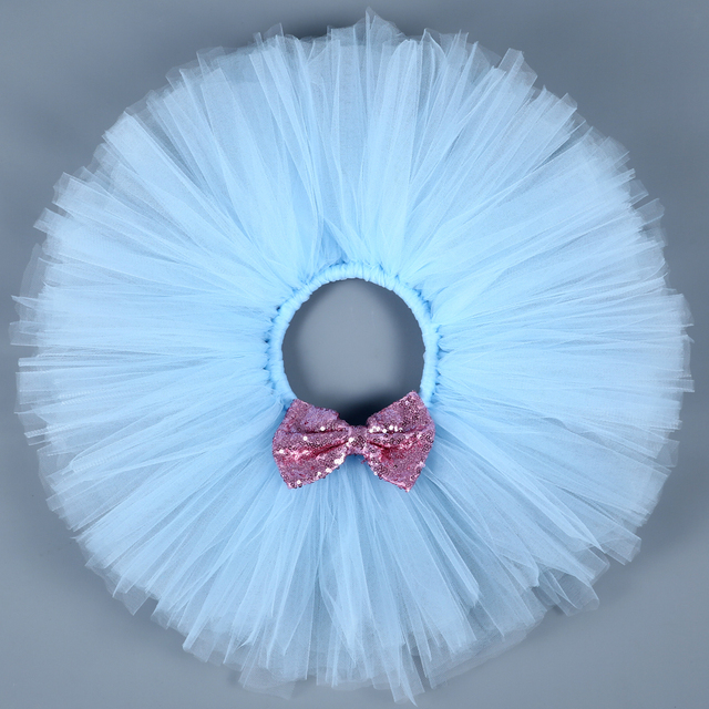 Kids Girls Skirts Fluffy Handmade Tutu Skirt Children Ballet Pettiskirt Princess Party Ball Gown Baby Girls Dance Tulle Skirts