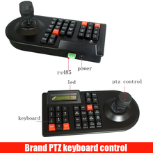 64 Set CCTV Analog Network Camera Handle Joystick DVR PTZ 3D RS485 Speed Dome Pelco-D / P Camera Controller Keyboard