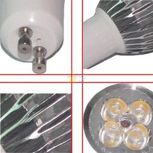 Image 2 - 1pcs 슈퍼 밝은 9W 12W 15W GU10 LED 전구 110V 220V Led 스포트 라이트 따뜻한/자연/멋진 화이트 GU 10 LED 램프