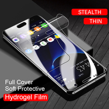 10D Soft Hydrogel Film Screen Protector For Samsung Galaxy S10 S9 S8 S7 S6 Edge Plus Note 9 8 Full Cover Protective