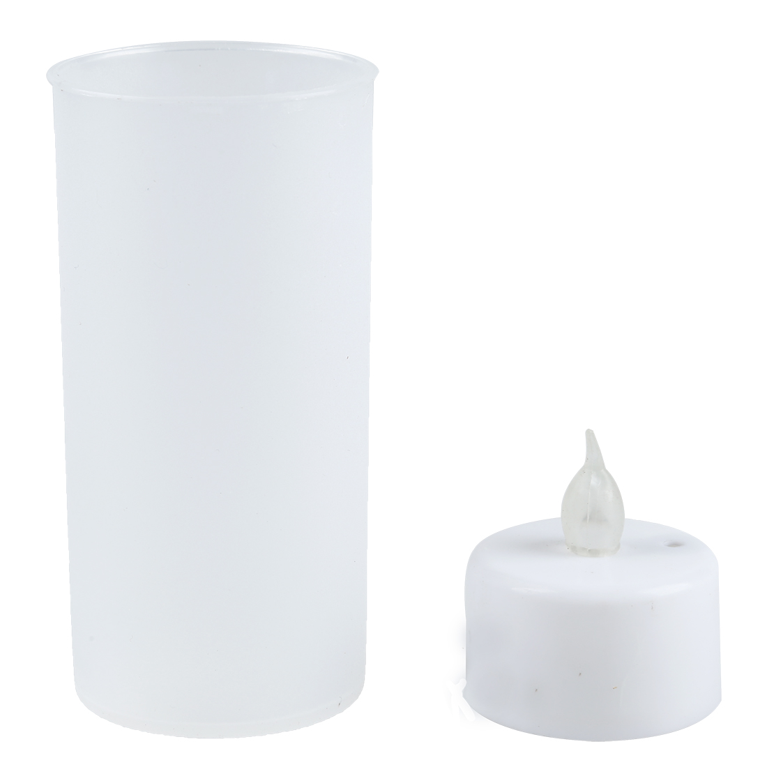 10x Flameless LED Flickering candle Tealight - Sound Activated
