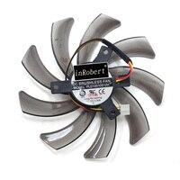 95mm Graphics Card Fan PLD10010S12H Cooller Fan Replacement Gigabyte GeForce GTX 660 600 7750 TI Video