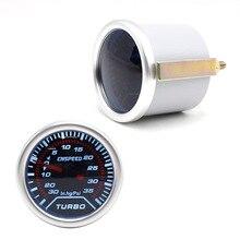 CNSPEED 52 мм гоночный автомобиль Psi турбо Boost Gauge метр черное лицо и светодиодный светильник индикатор панель управления авто Boost Gauge