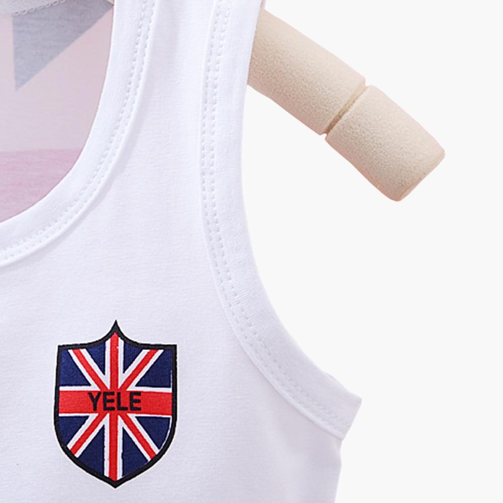 16689a725 Clearance Baby Boys Girls Clothing Set Cotton Flag Print Vest Pants ...