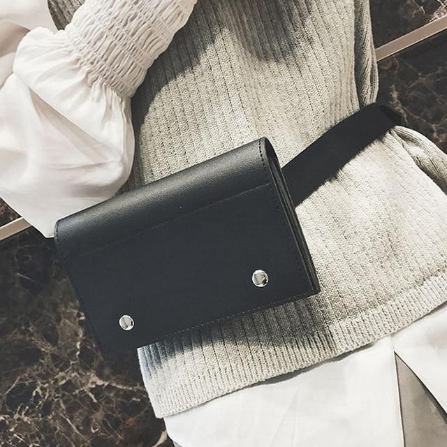 a126574bd1db9 Womens Waist Fanny Pack Phone Card Bum Belt Bag Messenger Shoulder Purse  Chain Large Crossbody Bag Fashion Handbag For Women
