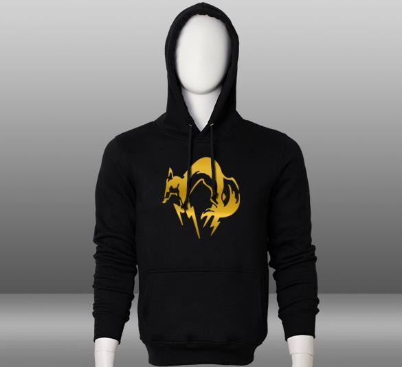 Metal Gear Solid V 5 The Phantom Pain Fox Unit Logo 100% Cotton Printed  Pattern Pullover Hoodie Men s Fleece Sweatshirt Coat ef3c42aa5