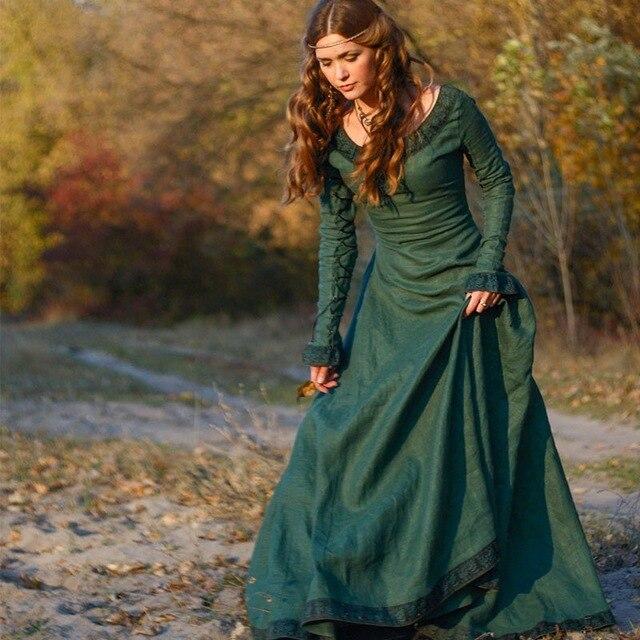 Floor Length Winter Dress