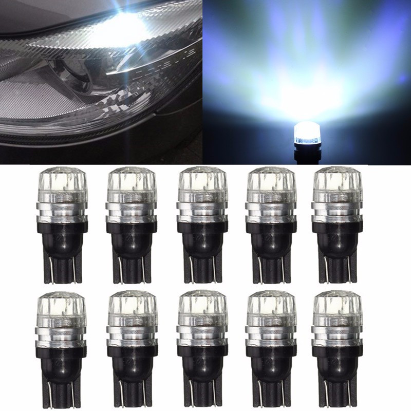 2/4/10pcs For Canbus Error Free T10 W5W 194 168 LED COB Car Interior Side Marker Lamp Wedge Light Bulb DC12V 6000K 2x warm white 2700 3200k t10 w5w 168 194 5050 100lm led 4 smd canbus error free car wedge light bulb auto interior lights 12v