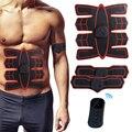 Estimulador abdominal elétrico sem fio ems, treinador fitness/emagrecimento, massageador/treinador muscular