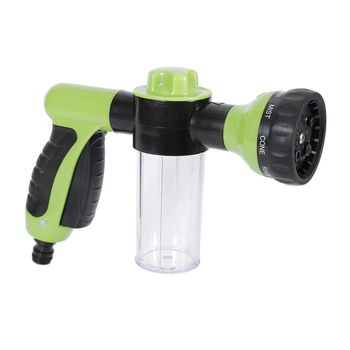 Washing Tool Car Wash Soap 8 in 1 Jet Spray Gun Soap Dispenser Garden Watering Hose Nozzle Car Washing Tool