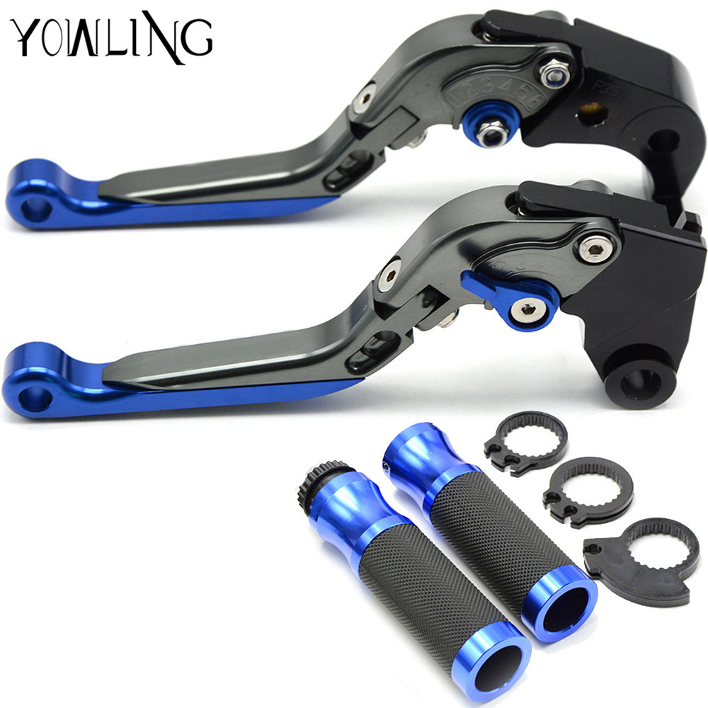 Motorcycle handlebar handle bar grips levers brake clutch For Honda CBR600RR 2007 2008 2009 2010 2011 2012 2013 2014 2015 2016