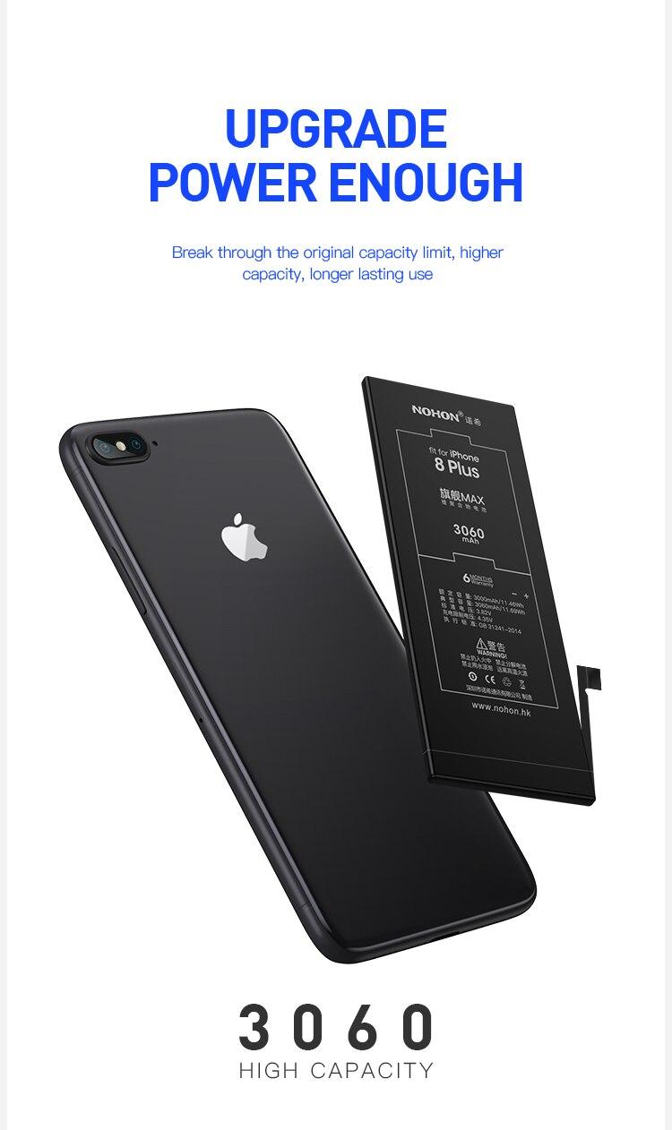 For iPhone 8 Plus Battery 3060mAh (3)