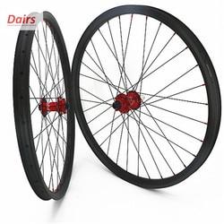 Carbon mtb disc wielen 27.5er tubeless mtb wielset AM XC 30x30mm symmetrie carbon wielen hoop 4 boost 110x15 148x12 CN424-in Fiets wiel van sport & Entertainment op