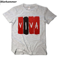 Coldplay Viva La Vida T Shirt Men Rock Style Summer Tee Shirt Homme Cotton Print 3D