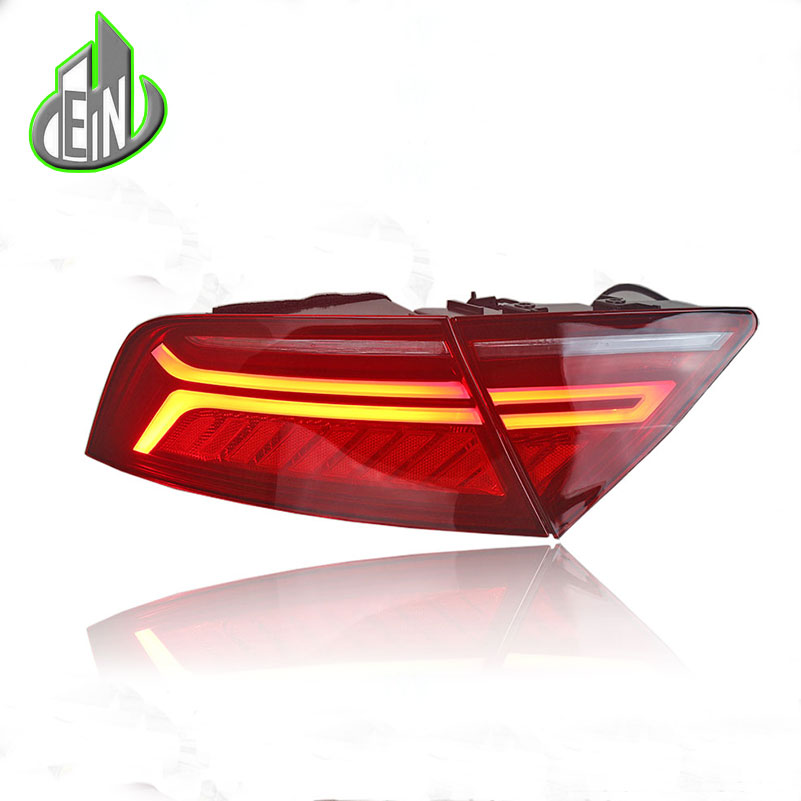EN Car Styling Taillight Accessories For Audi A7 Tail Lights 2012-2016 LED Tail Light Rear Lamp moving turn signal light car styling taillight accessories for audi a7 tail lights 2011 2017 led tail light rear lamp moving turn signal light