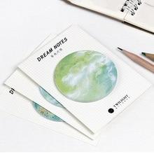trendy office supplies. 1 Pcs Trendy Self-Adhesive Putaran Memo Pad Catatan Tempel Sekolah Kantor Pasokan Office Supplies