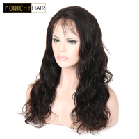 MORICHY 13*4 Inch Deep Part Body Wave 150% Density Lace Front Human Hair Wigs Brazilian Remy Hair Lace Wig For Black Woman