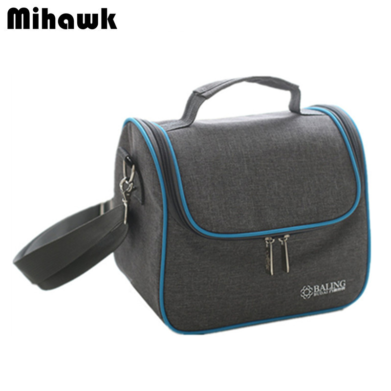 Oxford Shoulder Thermal Lunch Bag Insulated Cooler Beer Handbag Picnic Womens Bento Bag Portable Leisure Accessories Items