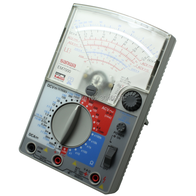 Image 5 - sanwa EM7000 Analog Multitesters/FET Tester  High sensitivity for measurement of lower capacitanceanalog multitestersanwa multitestermultiteste sanwa -