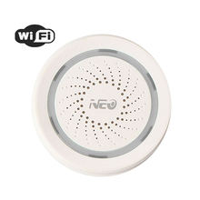 Беспроводной wi fi сирена датчик звука и светильник usb питание