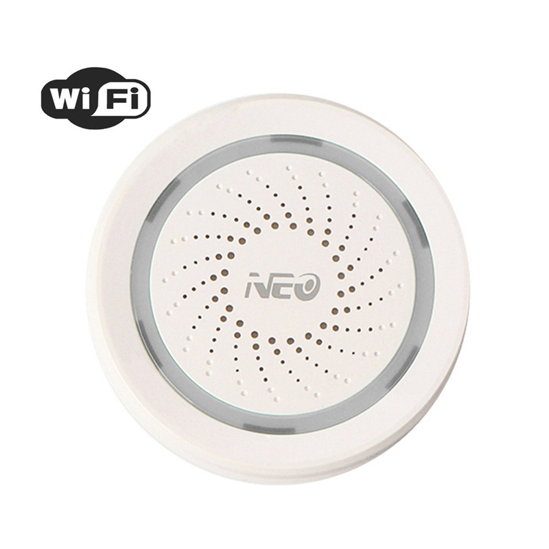 Wireless WiFi Siren Alarm Sensor Sound and Light Siren USB Power For Home Smart Lift DeviceWireless WiFi Siren Alarm Sensor Sound and Light Siren USB Power For Home Smart Lift Device