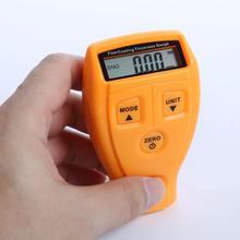 GM200 Ultrasonic Film Mini Car Coating Film Measure Tester Thickness Gauge Portable Coating Painting Thickness Gauge Tester