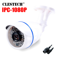 ABS Plastic XMEYE FULL HD 1080P IP Camera PoE 2MP Outdoor Bullet Security With 48V Cable 24 IR LED