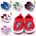Venta caliente 1 pair Primeros Caminante Zapatos Del Pesebre Del Bebé, los niños antideslizantes Zapatos, Calidad Estupenda Infant/Toddle/Boy/Girl Prewalker