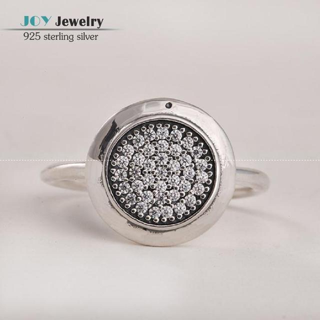 2015 Newest 925 Sterling Silver Pave Zircon Wedding Bands Rings For Women with European Brand Logo Engagement Party Rings SH0566