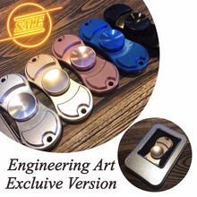 Fidget Hand spinner Engineering art Exclusive version aluminum alloy perfect detail you won't regret creative toy novelty gift