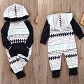 Детские Мальчики Девочки Младенческой Капюшоном Рождественский Подарок Комбинезон Боди Одежда Наряды
