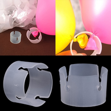 10/50pcs Balloon Wedding Party Decor Arch Stand Connectors Clip Ring Buckle Birt