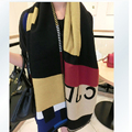 Scarf Luxury Brand Women Foulards Femme Poncho Prorsum Wool Scarf Monogramed Cape Check Echarpes Blanket Cashmere Scarf Hijab