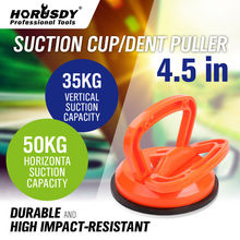 HORUSDY 4.5inch Heavy Duty Large Suction Cup Dent Remover Puller Auto Dent Body Glass Removal Hand Tool Rubber Pad Handle Lifter цена в Москве и Питере