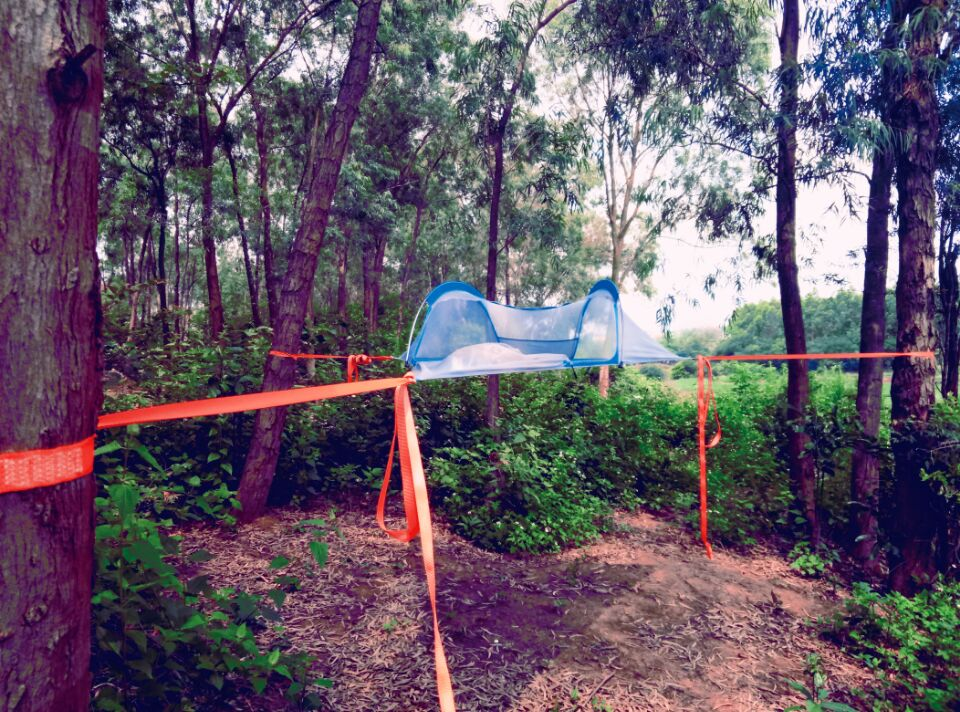 single Hanging Tree Tent Triangle Suspension tent Self Hanging ...