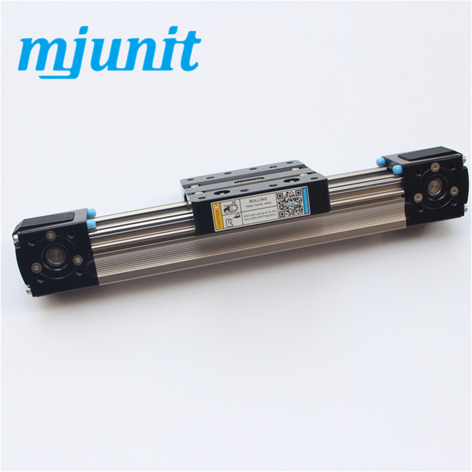 Slider  Rail Guideway System Square Slide Unit Linear Motion Intelligent Actuator Linear Rail Slide Belt Driven ball linear rail guide roller shaft guideway toothed belt driven