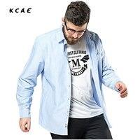 Autumn New Large Size Men S Cotton Shirt Plus Size Long Sleeved Shirt Men S Business