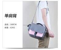 Leisure Nylon Durable DSLR Camera Messenger Bag Case For Canon E0S 1200D 1100D 700D 650D 600D