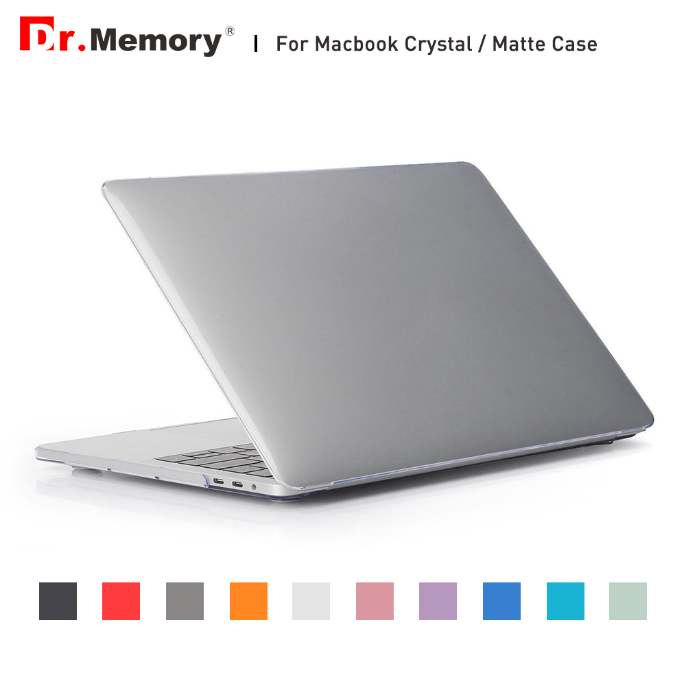 все цены на  For Macbook Air 13 Case For Macbook Air 11 13 Pro 13 15 Pro Retina 12 Cover Case Crystal/Matte Hard Notebook Laptop Sleeve  онлайн
