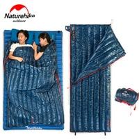 Naturehike Portable Lighter Goose Down Sleeping Bag Spring Autumn Warmer Outdoor Camping Single Lazy Bag For