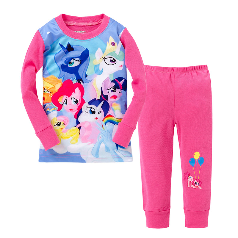 7971fa262b65 new 2016 My little pony clothes girls clothing sets suits kids ...