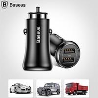 Baseus 4.8A USB 자동차 충전기 미니