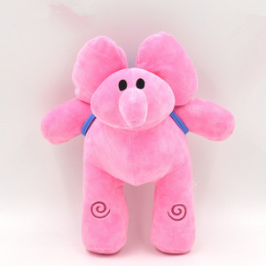 Image 4 - 4 Stks/set Pocoyo Knuffel Elly & Pato & Pocoyo & Loula Pluche Doll Soft Peluche Knuffels Speelgoed Voor kids Kinderen Gift
