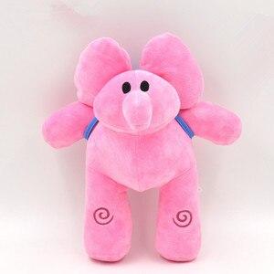 Image 4 - 4pcs/Set Pocoyo Plush Toy Elly & Pato & POCOYO & Loula Plush Doll Soft Peluche Stuffed Animals Toy for Kids Children Gift