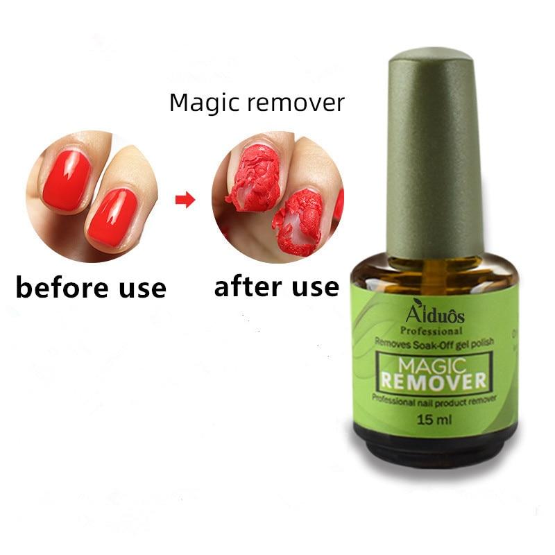 15ML Nail Gel/Polish Remover Magic Remover Healthy Fast Within 2-3 MINS Gel Nail Polish UV Esmaltes Permanentes Base Top Coat