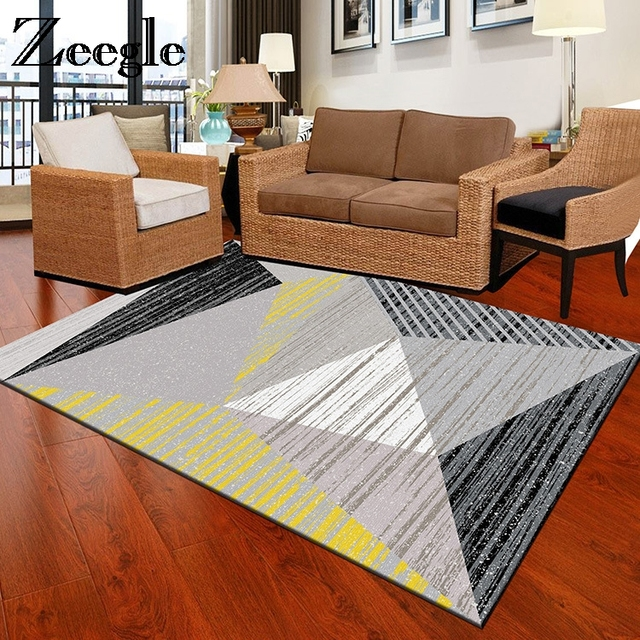 Zeegle Watercolor Rugs And Carpets For Home Living Room Office Chair Floor  Mats Bedroom Area Rug
