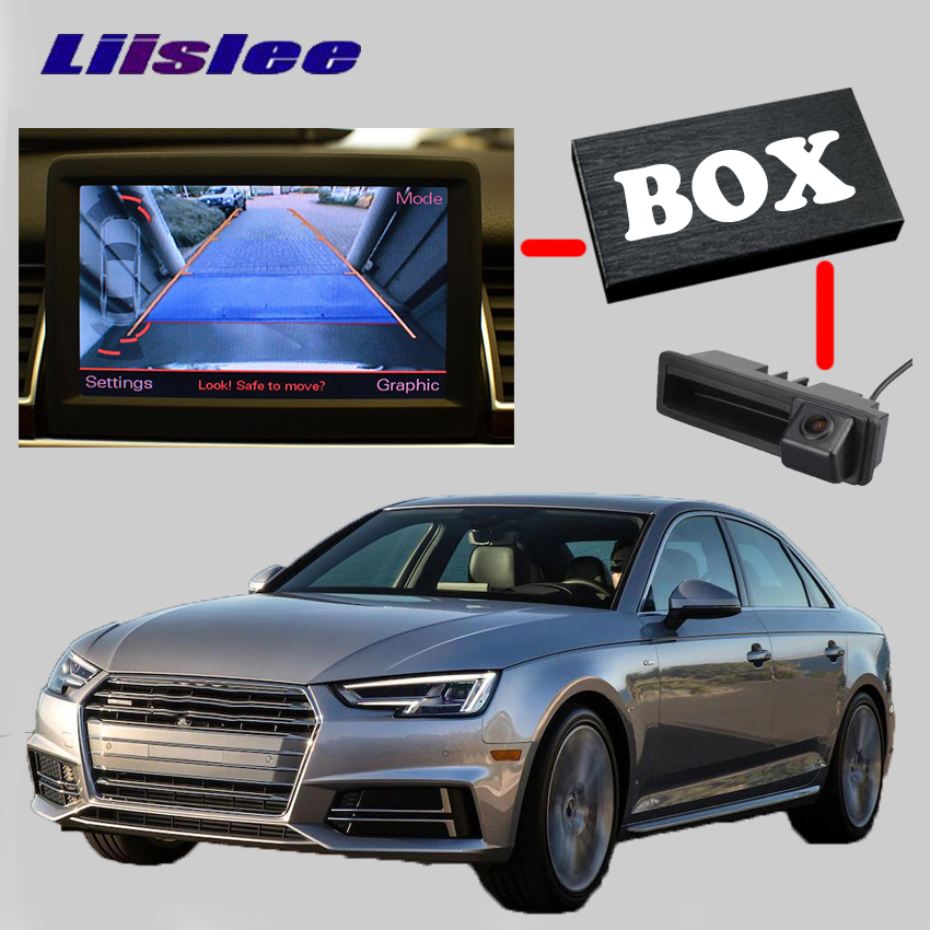LiisLee Rear Backup Camera Interface Kit For Audi A4 B5 8D B6 B7 8E 8H B8